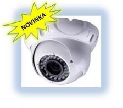 Dome kamera s infra přísvitem 50m, 600 TV ř.