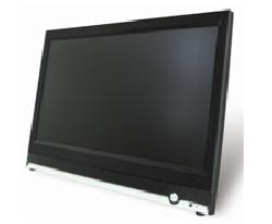 LCD monitor z vestavěným digitalnín záznamovým zařízením pro 4 kamery