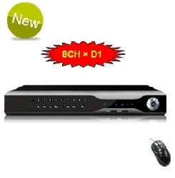 Digitální záznamové zařízení pro 8 kamer - DVR 8 kanálové