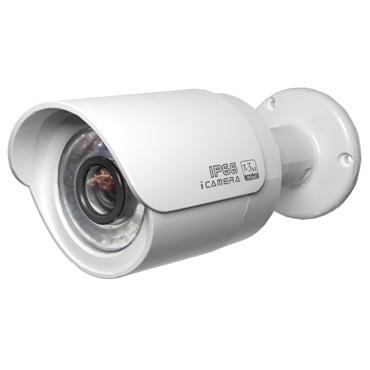 - 1,3MPix IP venkovní kamera; ICR + IR + objektiv 3,6mm