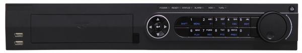 16 kanálový NVR s HDMI a 8x PoE(záznam 16x IP kamera); 1,5U - 4x HDD
