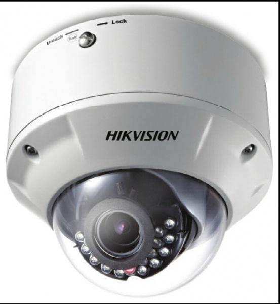 VENKOVNÍ IP kamera s IR + ICR; obj. 2,7-9mm; PoE; AUDIO