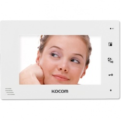 7 palcový handsfree videotelefon bílý