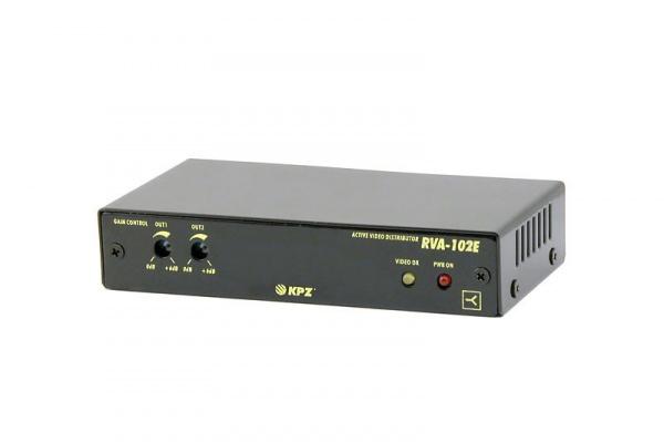 Aktivní rozbočovač videosignálu 2x výstup s nezávislou regulací