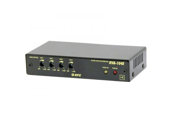 Aktivní rozbočovač videosignálu 4x výstup s nezávislou regulací