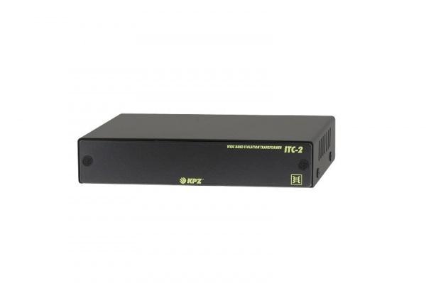 Dva obousměrné izolační transformátory videosignálu pro koaxiální kabely