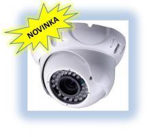 Dome kamera s infra přísvitem 30m, 600 TV ř.