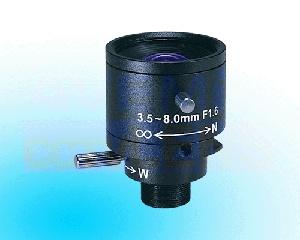 objektiv 3,5 - 8mm pro deskovou kameru