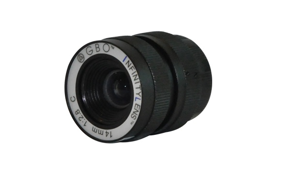 INFINITY objektiv 14mm s nekoneč.hloubkou ostrosti