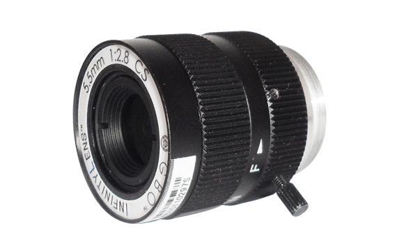 INFINITY objektiv 5,5mm s nekoneč.hloubkou ostrosti