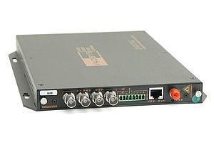 Vysílač 4 VIDEOsignálů po optice MM