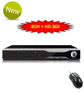 4 kanálový HD-SDI DVR - záznamové zařízení 1080P CK-E9004HD