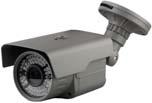 HD-SDI - venkovní kamera s IR 2.8-12mm