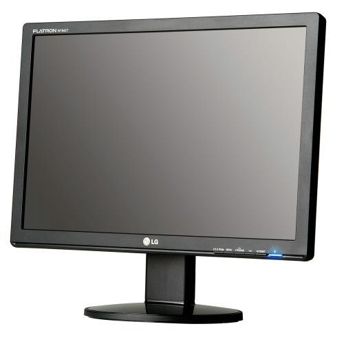 22' LCD monitor pro kamerové systémy